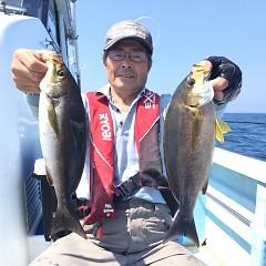 6月 13日(木) 午前便・イサキ釣りの写真その2