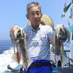 7月 24日(水) 1日便・スルメイカ釣りの写真その1