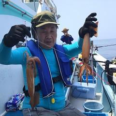 7月 29日(月) 1日便・スルメイカ釣りの写真その1