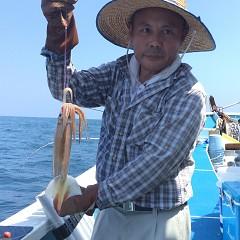 7月 31日(火) 1日便・スルメイカ釣りの写真その1