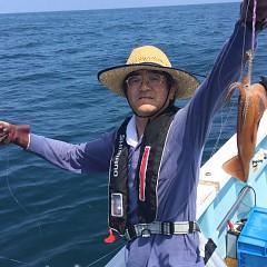 7月 31日(火) 1日便・スルメイカ釣りの写真その2
