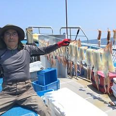 8月 1日(木) 1日便・スルメイカ釣りの写真その1
