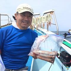 8月 2日(金) 1日便・スルメイカ釣りの写真その1