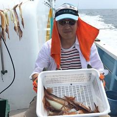8月 2日(金) 1日便・スルメイカ釣りの写真その3