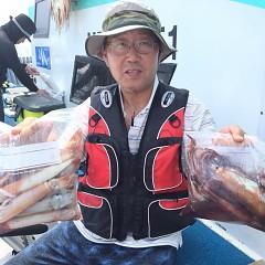 8月 2日(金) 1日便・スルメイカ釣りの写真その4