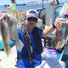8月 4日(日) 1日便・スルメイカ釣りの写真その2