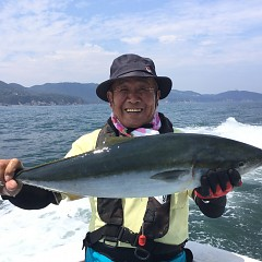 8月 19日(月) 午前便・タテ釣りの写真その1