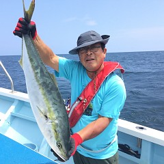 8月24日(土)午後便・タテ釣りの写真その3