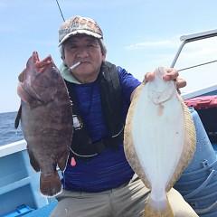 8月 25日(日) 午前便・タテ釣りの写真その4