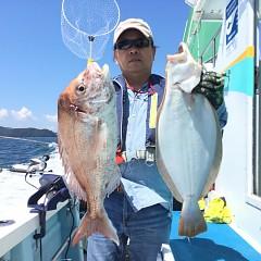 8月 26日(月) 午前便・タテ釣りの写真その1