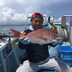 9月4日(水)午前便・タテ釣りの写真その2