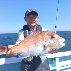 9月 16日(月) 午前・タテ釣り 午後・ウタセ真鯛の写真その1