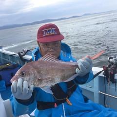 9月 17日(火) 午前・タテ釣り 午後・ウタセ真鯛の写真その2