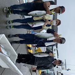9月18日(水)午前便、タテ釣りの写真その1