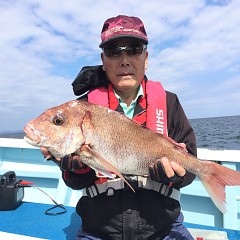9月 19日(木) 午前・タテ釣り 午後・ウタセ真鯛の写真その1