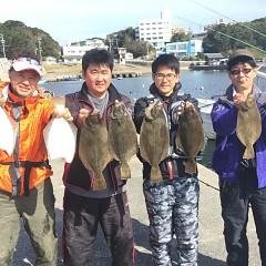11月 3日(日) 午前便・ヒラメ釣りの写真その1