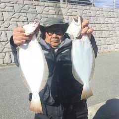 11月20日(水)午前便・ヒラメ釣りの写真その2