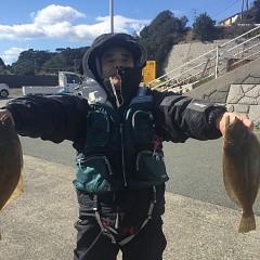 11月20日(水)午前便・ヒラメ釣りの写真その3