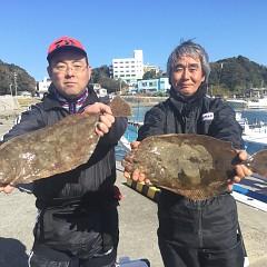 11月23日(土)午前便・ヒラメ釣りの写真その1