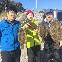 11月23日(土)午前便・ヒラメ釣りの写真その2