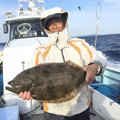 12月 24日(火) 9時出船・ヒラメ釣りの写真その2