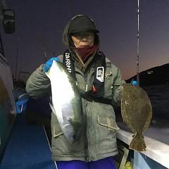 12月 29日(土) 午前便・午後便・ヒラメ釣りの写真その1