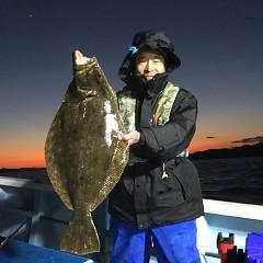 1月 13日(月) 午後便・ヒラメ釣りの写真その1