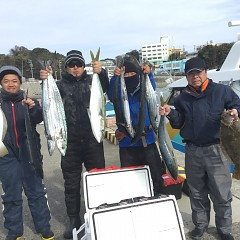 1月 14日(火) 午前便・ヒラメ釣りの写真その1