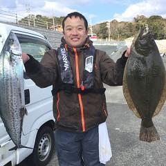 1月 15日(水) 午前便・ヒラメ釣りの写真その1