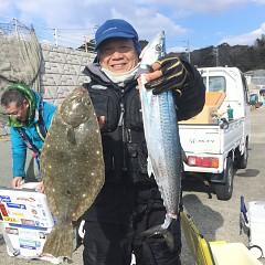 1月 15日(水) 午前便・ヒラメ釣りの写真その2