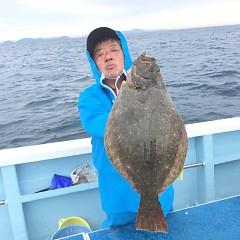 1月 16日(木) 午前便・ヒラメ釣りの写真その1