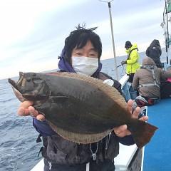 1月 16日(木) 午前便・ヒラメ釣りの写真その2