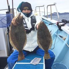 1月 16日(木) 午前便・ヒラメ釣りの写真その3