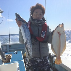 2月 11日(火) 午前便・ヒラメ釣りの写真その4