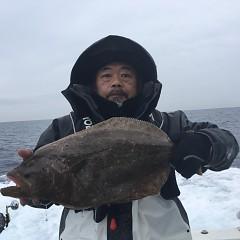 2月 14日(金) 午前便・ヒラメ釣りの写真その1