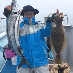 2月 14日(金) 午前便・ヒラメ釣りの写真その3