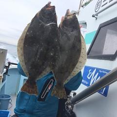 2月 14日(金) 午前便・ヒラメ釣りの写真その5