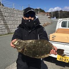 2月18日(火)午前便・ヒラメ釣りの写真その2