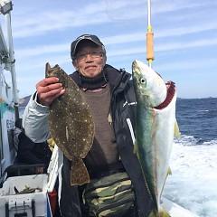2月 19日(水) 午前便・ヒラメ釣りの写真その2