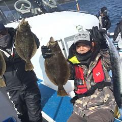 2月 19日(水) 午前便・ヒラメ釣りの写真その3