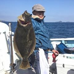 2月 21日(金) 午前便・ヒラメ釣りの写真その1