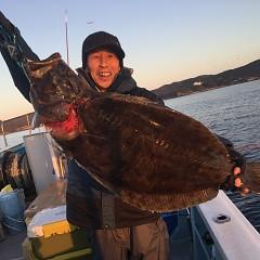 2月 24日(月) 午前便・ヒラメ釣りの写真その1