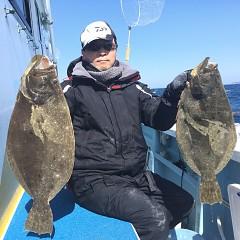 2月 24日(月) 午前便・ヒラメ釣りの写真その4