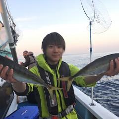 2月 24日(月) 午後便・アジ釣りの写真その1