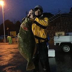 2月 29日(土) 午前便・ヒラメ釣り 午後便・アジ釣りの写真その5