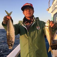 3月 25日(水) 午後便・アジ釣りの写真その1
