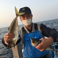 4月 8日(水) 午前・午後・アジ釣りの写真その2