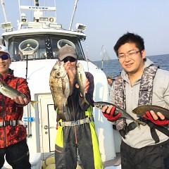 4月 16日(木) 午後便・アジ釣りの写真その1
