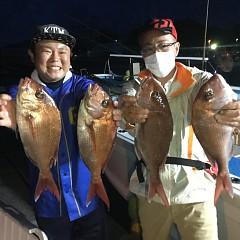 5月23日(土)午前・アジ釣り・午後便・マダイ釣りの写真その1