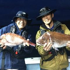 5月23日(土)午前・アジ釣り・午後便・マダイ釣りの写真その2